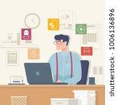 online security  data... | Shutterstock .eps vector #1006136896