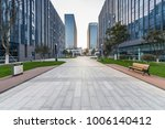 modern building and beautiful... | Shutterstock . vector #1006140412