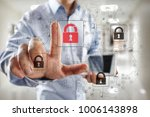cyber attack detection.... | Shutterstock . vector #1006143898