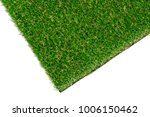 green grass mat on white... | Shutterstock . vector #1006150462
