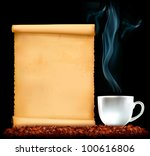restaurant menu on the old...   Shutterstock . vector #100616806
