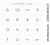 kitchen icons   03 | Shutterstock .eps vector #1006183615