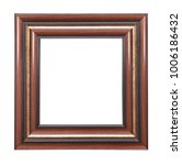 golden picture frame isolated | Shutterstock . vector #1006186432