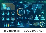 hud elements  search human... | Shutterstock .eps vector #1006197742