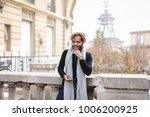handsome half african boy...   Shutterstock . vector #1006200925