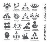 business management icons. pack ...   Shutterstock .eps vector #1006202872