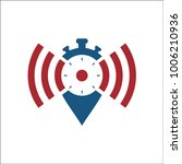 network alarm icon vector | Shutterstock .eps vector #1006210936
