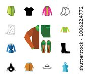 outfit icon set | Shutterstock .eps vector #1006224772