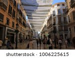 malaga  andalusia  spain   july ...   Shutterstock . vector #1006225615