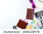 travel planning accessories ... | Shutterstock . vector #1006228978
