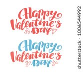 happy valentine day greeting... | Shutterstock .eps vector #1006544992