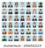 call center employee avatars...   Shutterstock . vector #1006562215