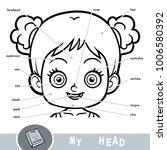 cartoon visual dictionary for... | Shutterstock .eps vector #1006580392