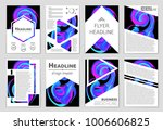 abstract vector layout... | Shutterstock .eps vector #1006606825
