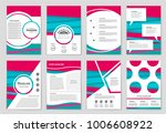abstract vector layout...   Shutterstock .eps vector #1006608922