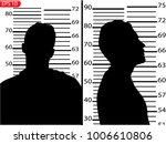 the criminal in prison ... | Shutterstock .eps vector #1006610806