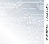 circuit board  technology... | Shutterstock .eps vector #1006613248