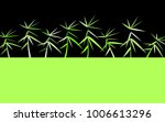 bamboo twigs background.... | Shutterstock .eps vector #1006613296