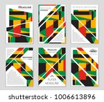 abstract vector layout... | Shutterstock .eps vector #1006613896