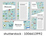abstract vector layout... | Shutterstock .eps vector #1006613992