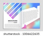 abstract vector layout... | Shutterstock .eps vector #1006622635