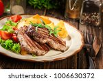 succulent portions of grilled... | Shutterstock . vector #1006630372