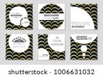 abstract vector layout... | Shutterstock .eps vector #1006631032