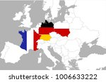 weimar triangle organisation ... | Shutterstock . vector #1006633222