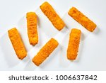 high angle view of crispy fish... | Shutterstock . vector #1006637842