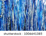 colorful shiny streamers...   Shutterstock . vector #1006641385