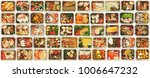 collection of take away foil... | Shutterstock . vector #1006647232