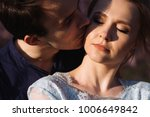 love story of beautiful young... | Shutterstock . vector #1006649842