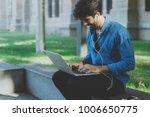 positive it specialist having... | Shutterstock . vector #1006650775