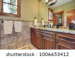 master bathroom interior ... | Shutterstock . vector #1006653412
