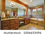 gorgeous master bathroom... | Shutterstock . vector #1006653496
