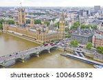 Aerial View Of The Big Ben  Th...