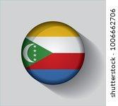 button flag of comoros in a... | Shutterstock .eps vector #1006662706