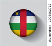 button flag of central african... | Shutterstock .eps vector #1006662712