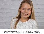 portrait of happy smiling 10... | Shutterstock . vector #1006677502