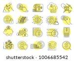 modern linear pictogram of... | Shutterstock .eps vector #1006685542