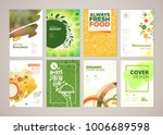 set of restaurant menu ... | Shutterstock .eps vector #1006689598