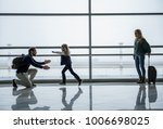 family getting back together... | Shutterstock . vector #1006698025