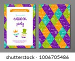 carnival party   concept of... | Shutterstock .eps vector #1006705486