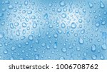 background of water drops of... | Shutterstock .eps vector #1006708762