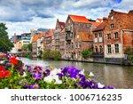 Canals Of Gent  Belgium