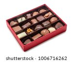 chocolate box isolated on white | Shutterstock . vector #1006716262