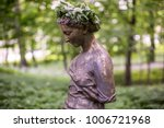 Xix Century Statue Of A Young...