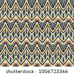 geometric folklore ornament.... | Shutterstock .eps vector #1006723366