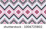 geometric folklore ornament.... | Shutterstock .eps vector #1006725802