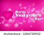 vector happy valentines day...   Shutterstock .eps vector #1006730932